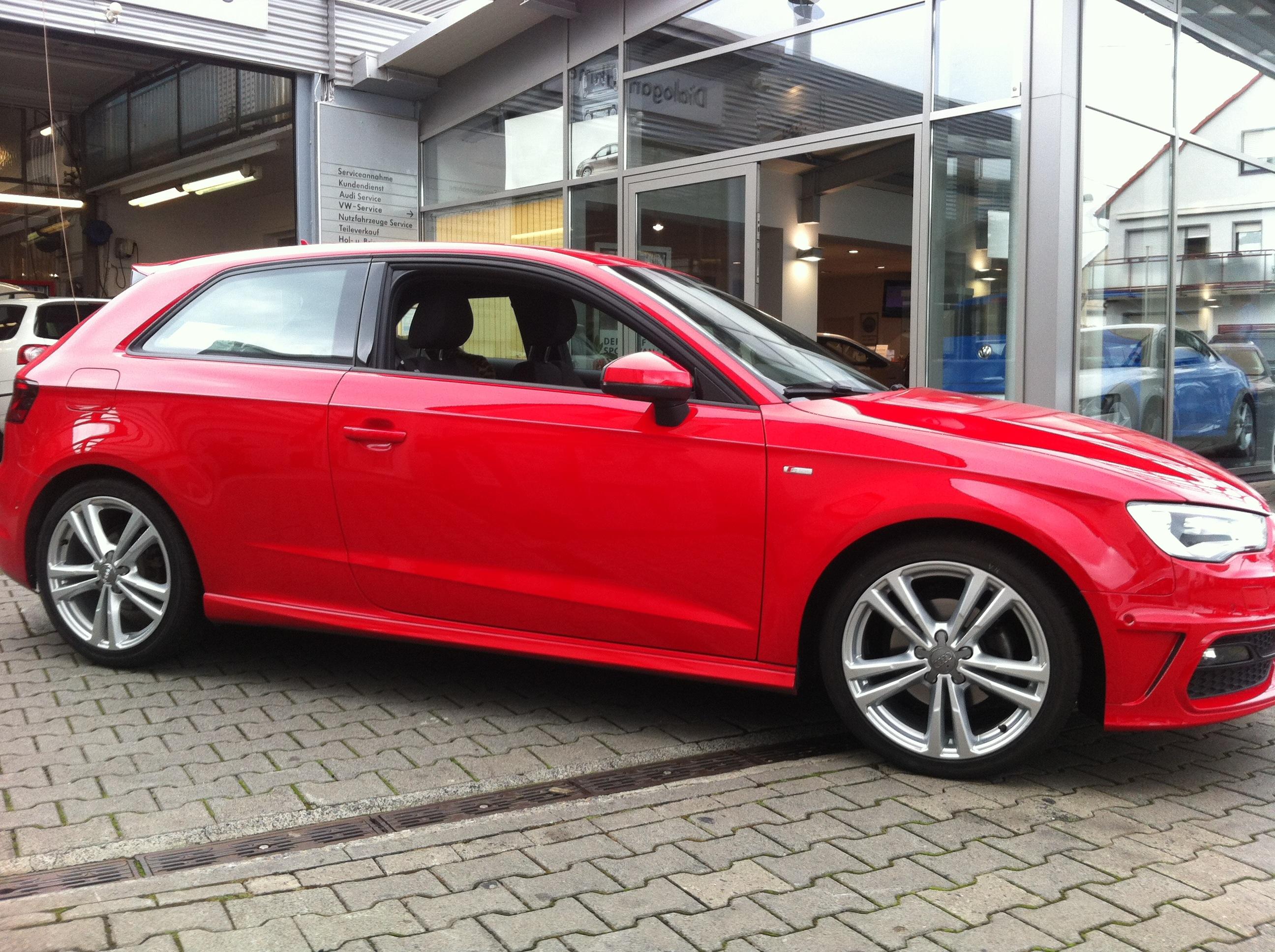 Allgemein Spurplatten Spurverbreiterungen Am Audi A3