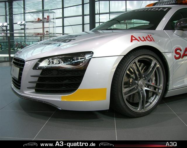 bilder audi r8 safety car 24std le mans alle anderen audi modelle der audi a3 3 2 quattro. Black Bedroom Furniture Sets. Home Design Ideas