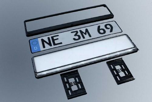 a3 umbau auf selbstleuchtendes nummernschild sln von. Black Bedroom Furniture Sets. Home Design Ideas