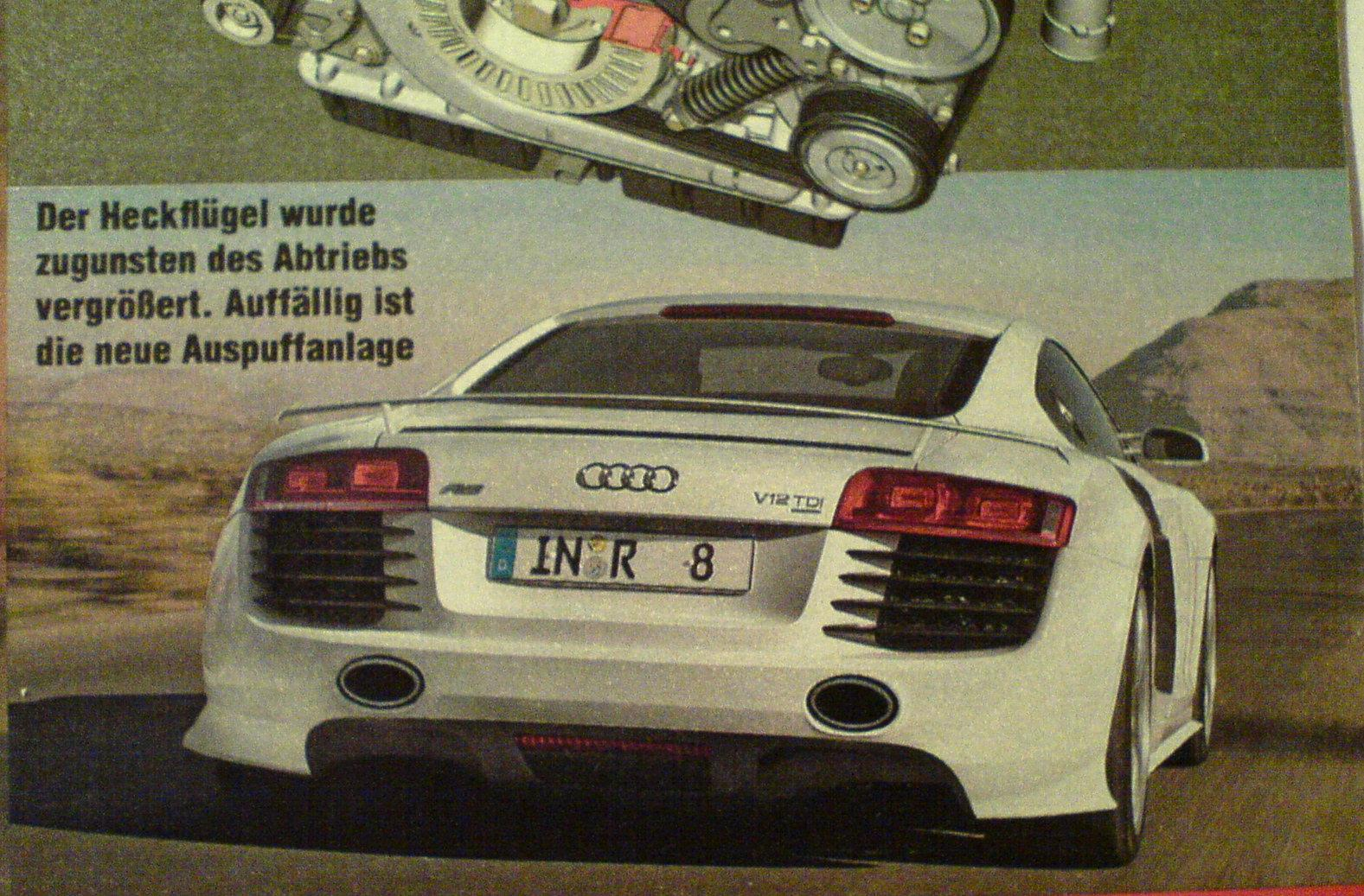 audi r8 v12 tdi kommt alle anderen audi modelle der audi a3 3 2 quattro das gr te audi a3. Black Bedroom Furniture Sets. Home Design Ideas